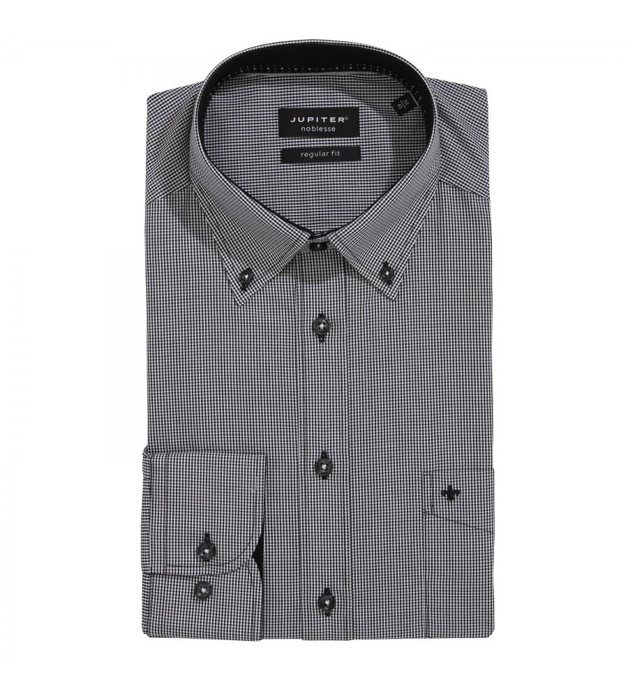 Kariertes Langarmhemd Modern Fit 2541-11221-050 01