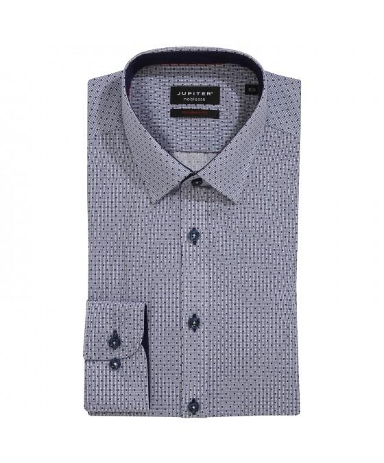 Modisches Print-Hemd ohne Brusttasche 2587-21120-175 01