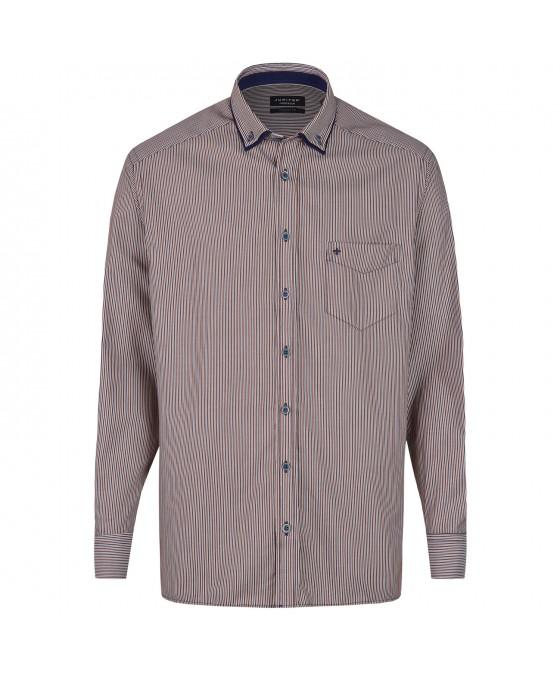 Langarmhemd mit modischen Streifen JC80511-11221-569 01