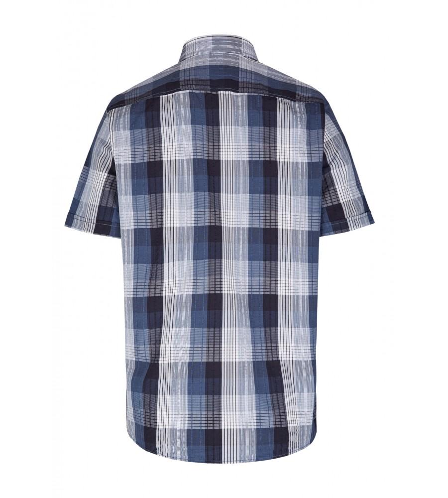 Modernes Hemd im Karo-Look Kurzarm JC90005-52111-158 back