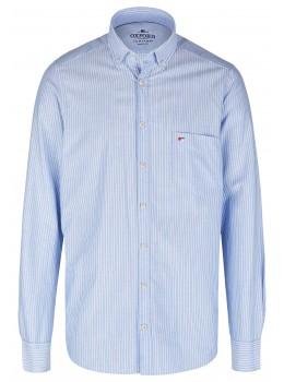 Oxford Streifenhemd Langarm