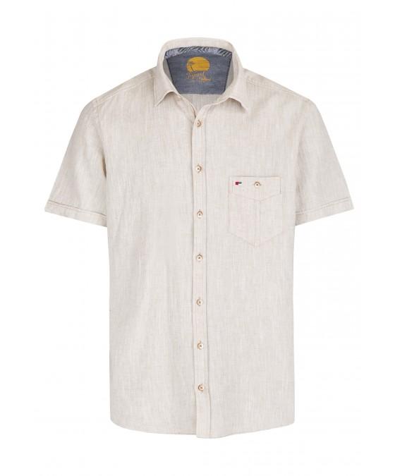 Lässiges Herrenhemd Kurzarm JD20030-52121-205 front